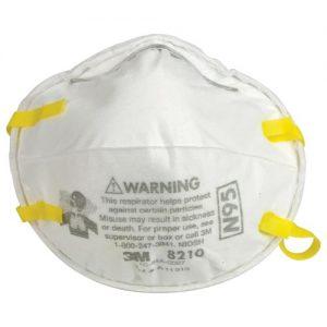 Respirator 8210, N95 mask