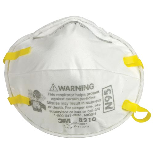 Mask N95 Respirator 3m 8210 Particulate